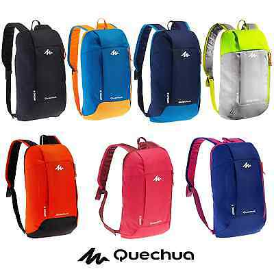 Backpack 10L Small Light Hiking Comfortable Unisex Quechua Rucksack Arpenaz Bag