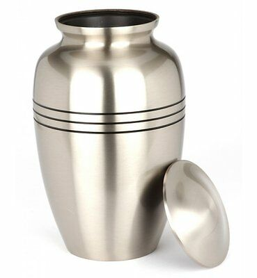 """Cheadle Pewter 10 """" Cremation Ashes Adult Urn UU100003N"""