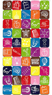 50 Cool Colorful Fridge Magnets - Creative/Science/Geek Gift Fridge Notes Holder