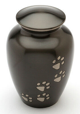 """Matlock Black 6"""" Cremation Ashes Small Pet Urn UU500006A"""