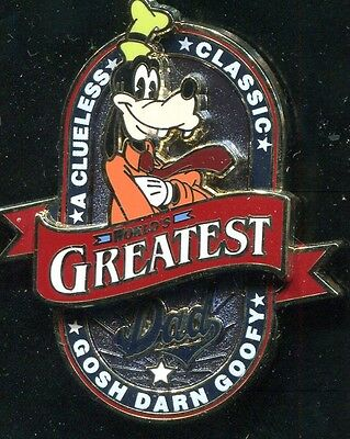 Goofy World's Greatest Dad Disney Pin 101194