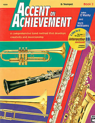 Alfred Accent on Achievement Bb Trumpet Book 2 Preowned - Missing CD- O'Reilly