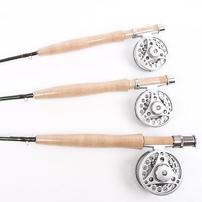 2/3WT Fly Rod And Fly Reel Combo 7.6FT/6.6FT/6FT Medium Fast Fly Fishing Rod