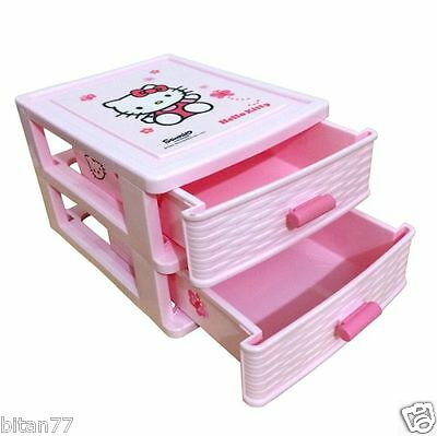 Hello Kitty Drawers Hello Kitty Small Pink Plastic Drawers Storage Organizer