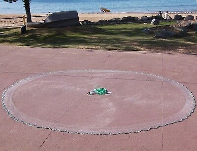 "Cast Net 12 Ft, Drawstring, 3/4"" Mono, Full Spread, ChaiN Bottom, Clearance!"