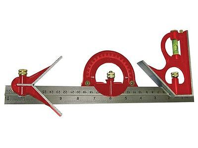 Faithfull - Combination Square Set 300mm (12in) - 716G16