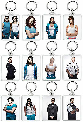 Wentworth Prison Tv Show And Dvd Select A Character Keyring Uk Seller