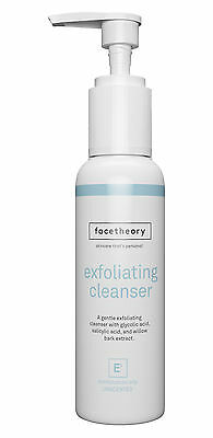 Glycolic Exfoliatng Facial Cleanser E1 (AHA/BHA cleanser - unfragranced). 150ml.