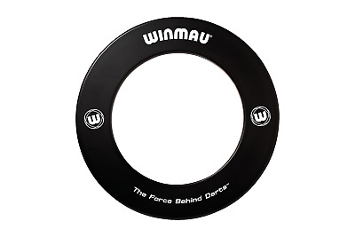 Black WINMAU Professional Dart Board Surround one piece surround Made in the UK