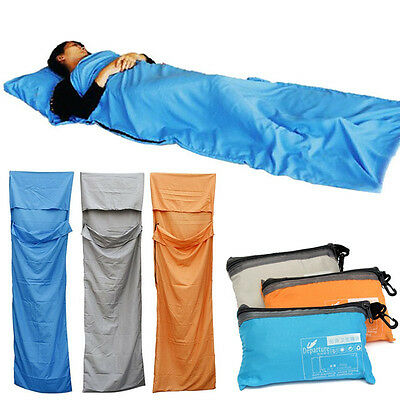 Outdoor Camping Portable Ultra-light Single Envelope Sleeping Bag Hiking Travel