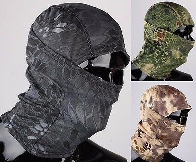 Men Full Face Mask Cover Outdoor Ski Motorcycle Balaclava Camouflage Hat Cap