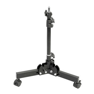18.5-66cm Heavy Duty Floor Stand with Foldable Legs Backgrounds Portable