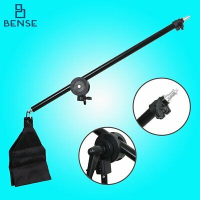 Hair light Top Light Studio Telescopic Boom Arm 78-138cm w/ Weight Bag Sandbag