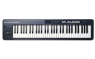 M-Audio Keystation 61 II Mk2 MkII MIDI USB Keyboard Controller (2014 New Vers)