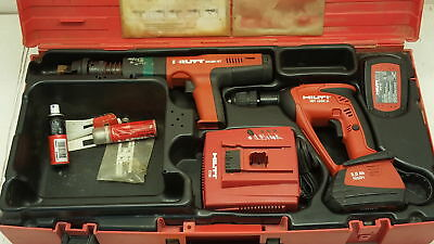 Hilti Kit: DX351 BT Powder Actuated Tool, XBT 4000-A Drill, C7/24 Charger