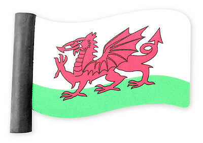 Welsh Flag Car Aerial Antennae Flag