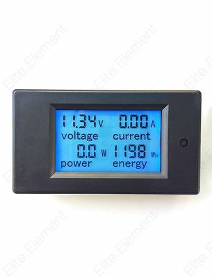 DC Battery Monitor 6.5-100V 100A LCD Voltage Current KWh Watt Power Combo Meter
