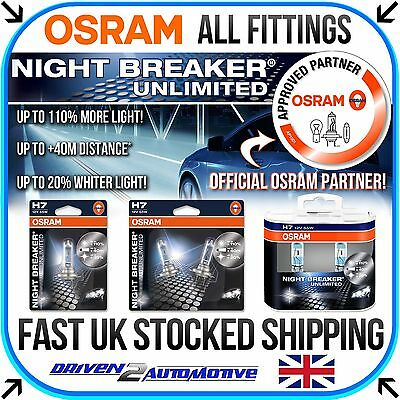 NEU OSRAM NIGHT BREAKER UNLIMITED / LASER FROM +110% to +130% ALLE TYPEN VERKAUF