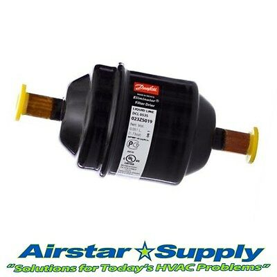 "3/8"" ODF • Liquid Line Filter Drier • Danfoss # DCL053S Replaces Alco QE & More"