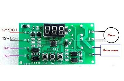 Dual Programmable Relay Control PLC Cycle Delay Timing f Motor direction reverse