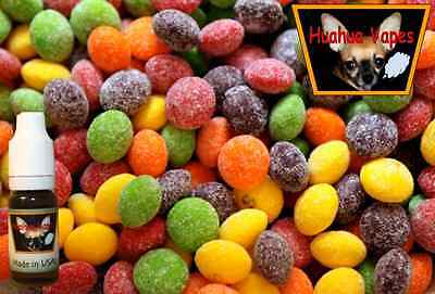 Sour Skittles Flavored E PG/VG Liquid Made In USA Quality Juice 10ml