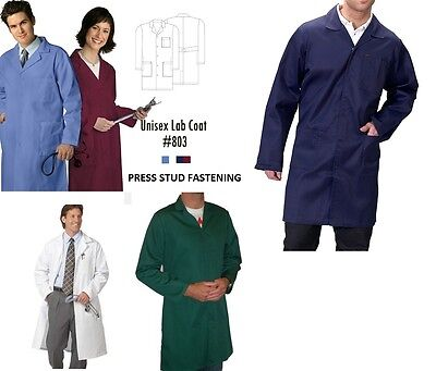Lab Coat Laboratory Hygiene Food Industry Warehouse Doctors Medical Coat School