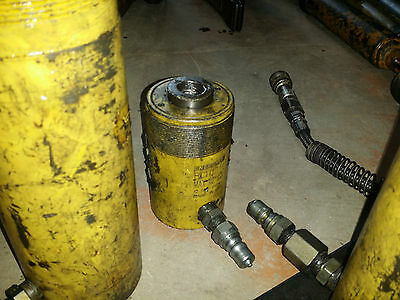 Enerpac Rch-1211 12 Ton 10000 Psi Hollow Cylinder