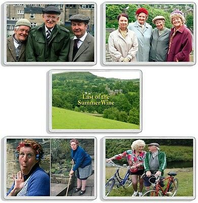 Last Of The Summer Wine Classic Tv Show And Dvd Series Fridge Magnets Uk Seller