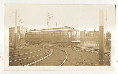 LEHIGH VALLEY TRANSIT CO Trolley ALLENTOWN PA Pennsylvania 1938 Photograph 2