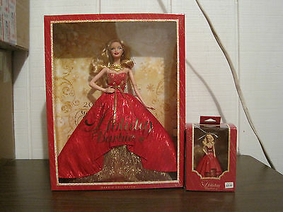 2014 Holiday Barbie And Christmas Ornament---Age Over 6 Years