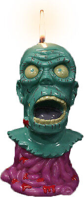 """MELTING ZOMBIE CANDLE - 6"""" Candle (Oddco) #NEW"""