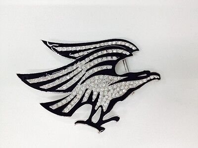 Eagle Rhinestone Belt Buckle Ladies New