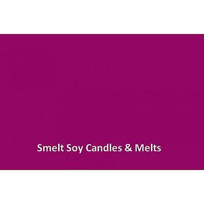 RASPBERRY - Soy Wax Dye Block - Candle Making Suppplies 27 Colours Available