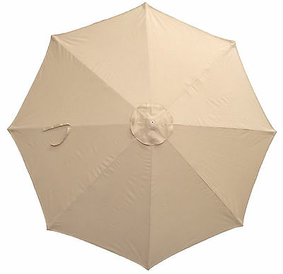 CANOPY ONLY for 3m Parasol/Umbrella - 8 Spoke - Water Resistant - Argos