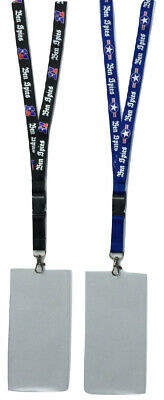 NEW Ben Spies Motogp WSBK Lanyard Neckstrap & Ticket Wallet Holder Black or Blue
