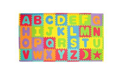 86pcs EXTRA LARGE Kids Baby Alphabet Letters Foam Floor Puzzle Play Mat Rug