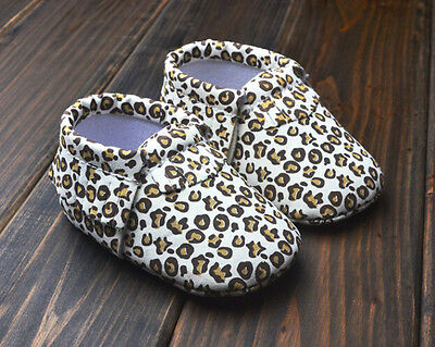 6-12 Age 0-6 New Nekour Soft Sole Baby Girls Printed Moccasin Shoes 12-18 Mos