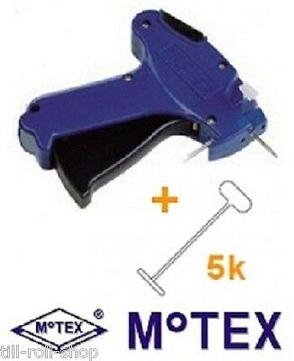 Motex Tagging Gun + 5,000 Tags - Select Your Model + Tags - Free Delivery
