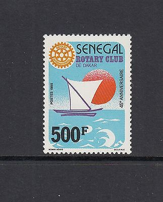 ROTARY/SAILING - Senegal  - 1987 set of 1- (SC 730) -MNH  - Z904