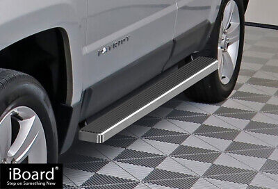 """Premium 4"""" iBoard Running Boards Fit 07-15 Jeep Patriot"""