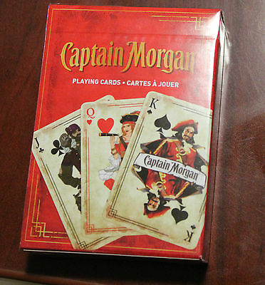 New Sealed Bicycle Captain Morgan Rum Deck Of Playing Cards Limited Promo Item
