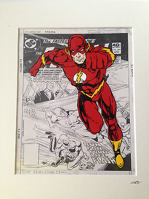 The Flash - DC Comics - Hand Drawn & Hand Painted Cel