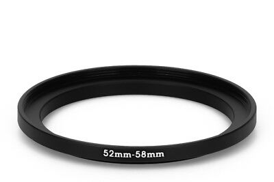 52 mm - 58 mm Filter Adapter Step-Up Adapter Filteradapter Step Up 52-58