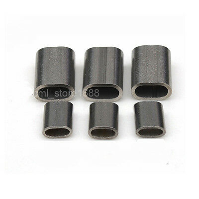 "5/64"" 304Stainless steel Cable Crimps / Sleeves   2.0mm  20pcs"
