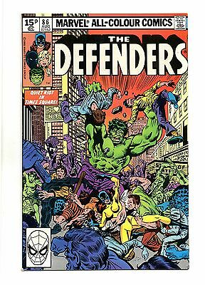 Defenders Vol 1 No 86 Aug 1980 (VFN+ to NM-) Marvel, Modern Age (1980 - Now)