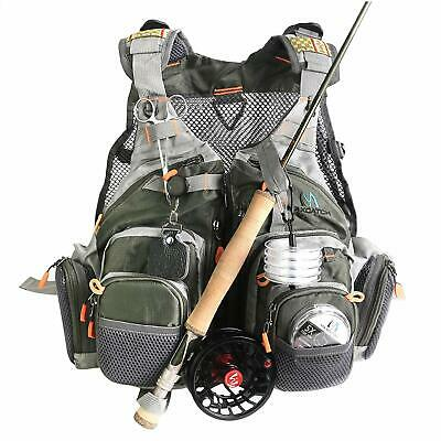 Maxcatch Fly Fishing Vest Mesh Vest Pack Free Size