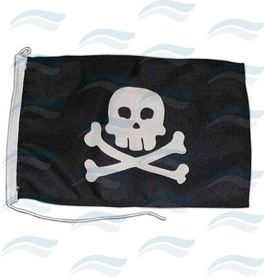 DRAPEAU PIRATE 300 X 200 mm coton grande qualité