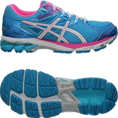ASICS GT 1000 3 bluewhitepink Women's Runningshoes with