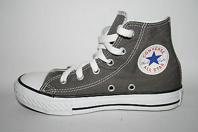 Converse All Star Unisex Sneakers Grey Kids Fashion Designer Flat Sport 12 UK