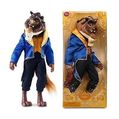 New Official Disney Beauty & The Beast 33cm Beast To Prince Classic Doll